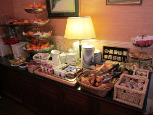 Breakfast at the Hotel Chopin in Paris